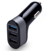 USB Car Charger 3 USB 5.1A - Charger Mobil Fast Charging