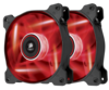 [JoJo CompTech] Corsair AF120 LED RED Quiet Edition Fan Twin Pack