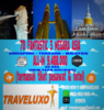 TOUR 7D NEW YEAR HOLIDAY 3 NEGARA ASIA (ALL-IN)