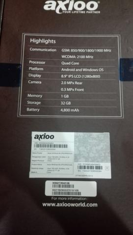 harga WTS 2nd like new Axioo WIndroid 9G 2in1 Laptop Tablet hybrid dual OS Windows Android Kaskus FJB