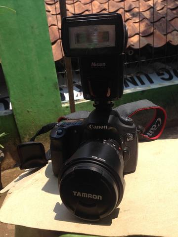 harga WTS Canon EOS 60D 18-55 STM (With Lens Tamron 17-50mm non VC + Flash Nissin di622 Mark 2) Kaskus FJB