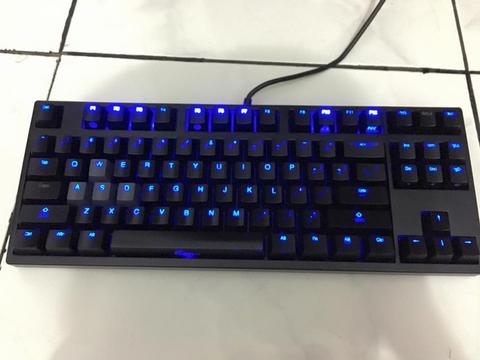 harga WTS Ducky Zero Shine 2087S TKL [Blue switch,LED,Mint condition] Kaskus FJB