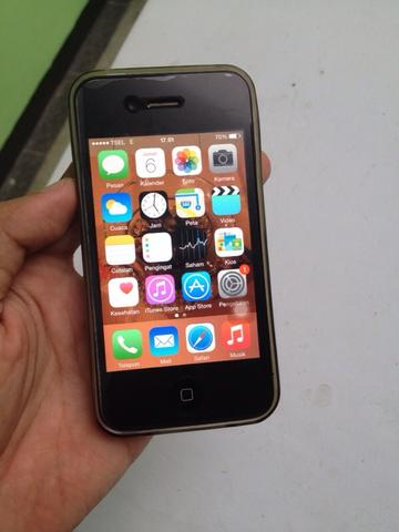 iphone 4s FU BLACK 16gb muraah