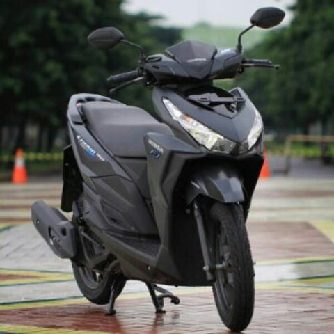 Honda New Vario 150 Warna Hitam Abu Dop Exlusive Monotone Di Bandung ...