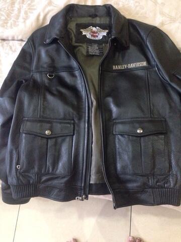 Harley Davidson Jaket Kulit Original