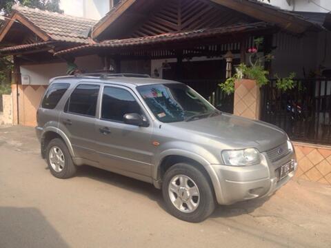 harga WTS Dijual ford escape tahun 2004 2.3 xlt warna silver automatic Kaskus FJB