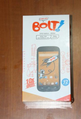BOLT! 4G Power Phone - ZTE V9820 - White