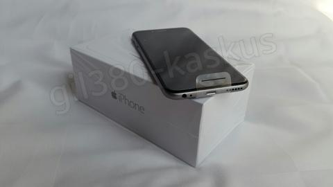 harga WTS APPLE IPHONE 6 SPACE GRAY NEW Rp 104jt Kaskus FJB