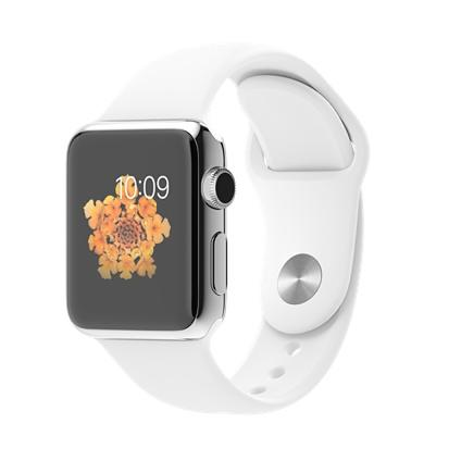 harga WTS Apple Watch 38mm Stainless Steel Sapphire Crystal with White Sport Band termurah Kaskus FJB