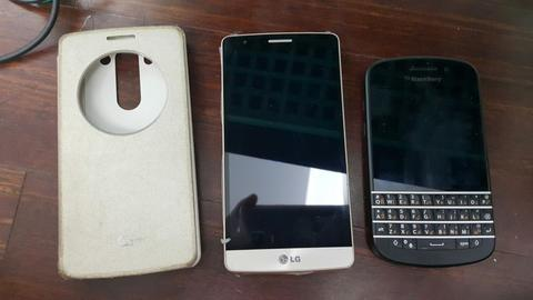 WTS LG G3 Beat Gold dan Blackberry Q10 Black Murah