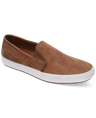 100% ORIGINAL ROCKPORT SLIP-ON SHOES/SEPATU CASUAL no