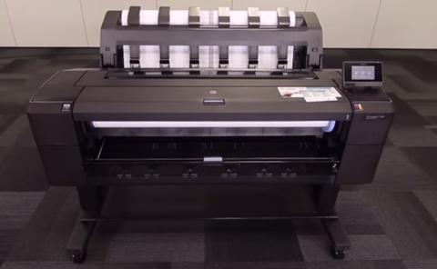 Plotter HP Designjet T1500 (36 in)
