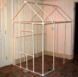 Как построить дом из трубы