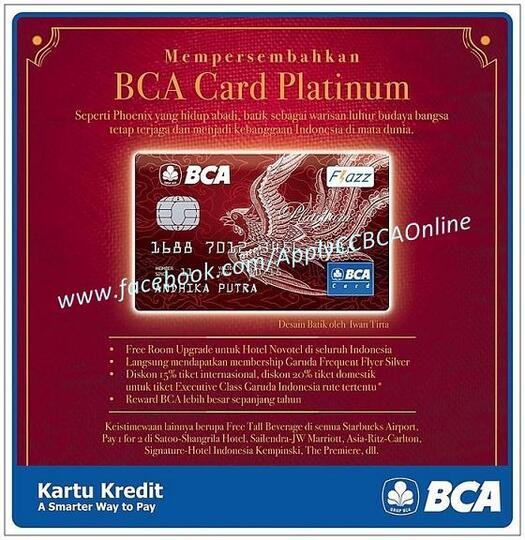 Promo Kredit Card Bca Xxi
