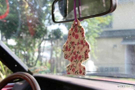 Сделать освежитель воздуха для машины своими руками