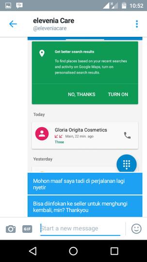 Kecewa dengan Gloria Origita Cosmetics (GOC)