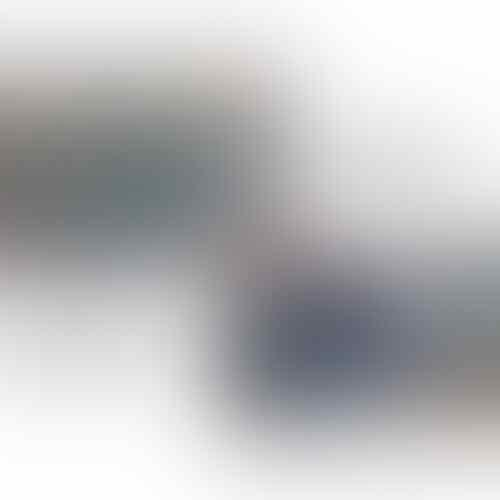 CARLISA WEDGES CHAM SILVER/BLUE W6 DIJUAL KARNA KEBESARAN