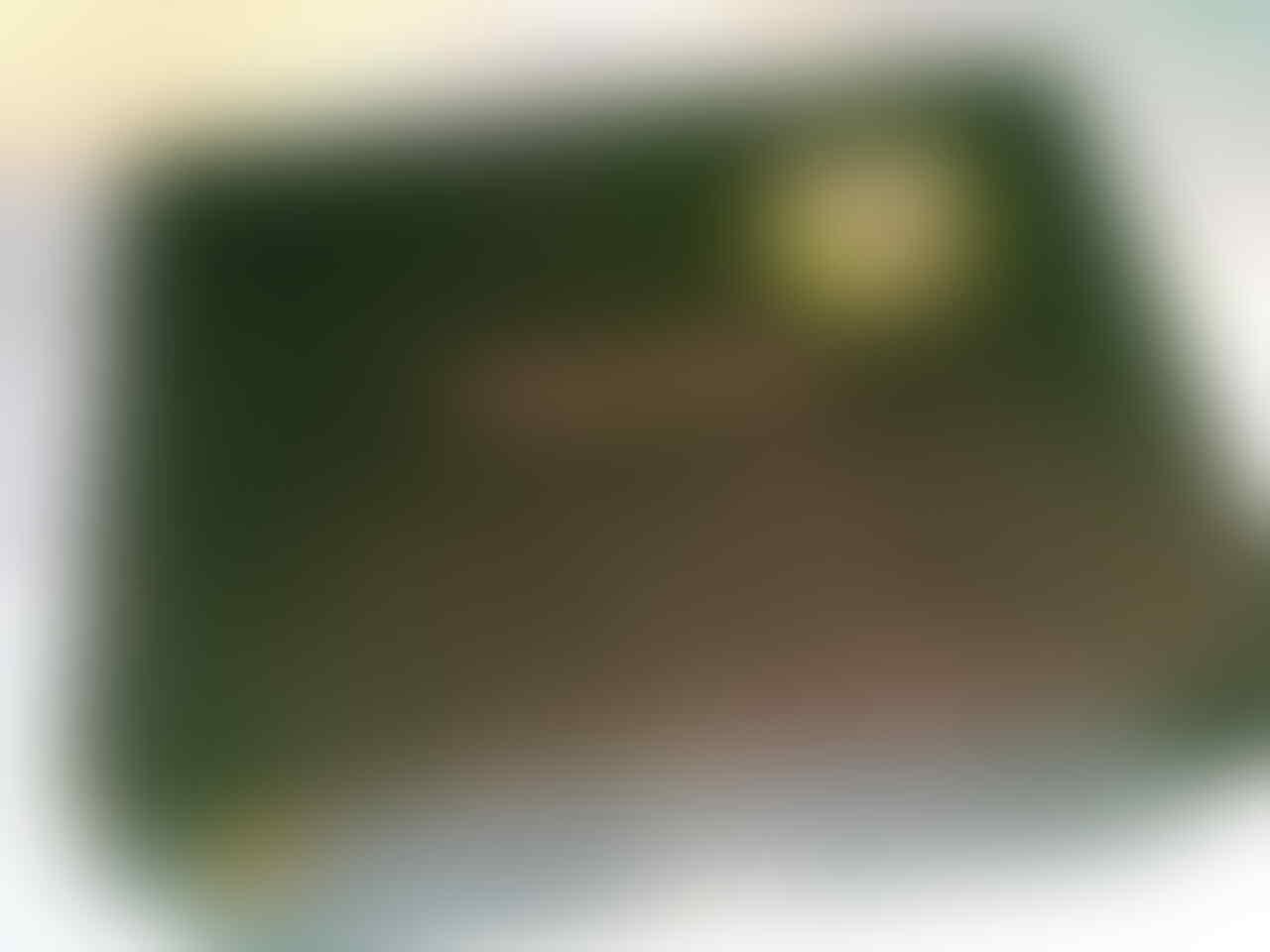 blackberry gemini 8520 white garansi masih 9 bulan TAM