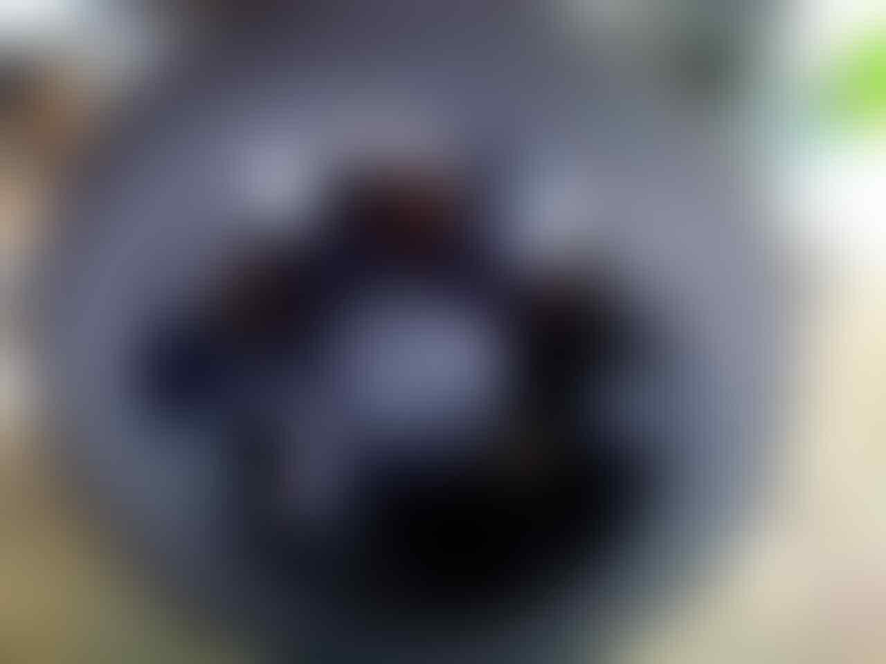 velg 20 ion black plus ban ex Pajero