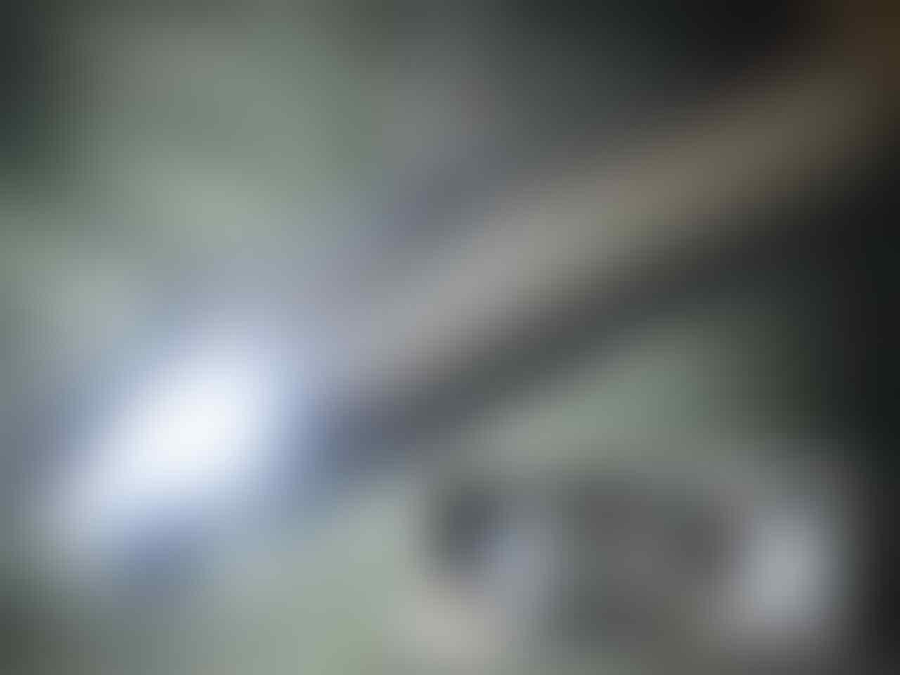 Terjual knalpot standart racing Satria FU 150 murah bet