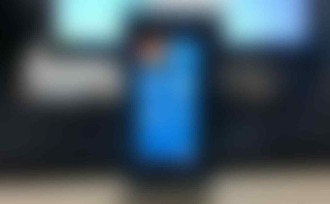 Nokia Lumia 900 Biru mantab cod bandung