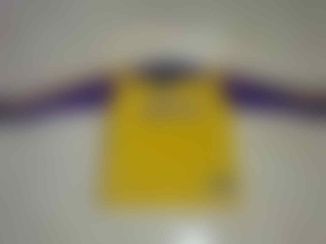 SWEATER LAKERS KUNING SIZE XL (BIG SIZE)
