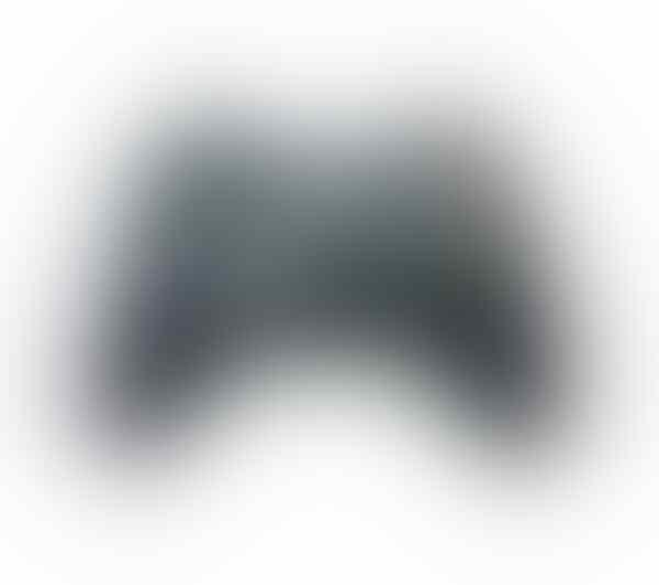 [stary] XBOX Wired Wireless Controller Stick for PC Black White ORI MURAH!!