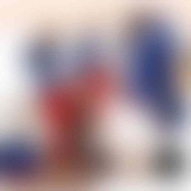 KEMEJA SALUR 2 WARNA 'MODEL SAYAP PINGUIN' BAHAN CERUTI/SIFON TEBAL