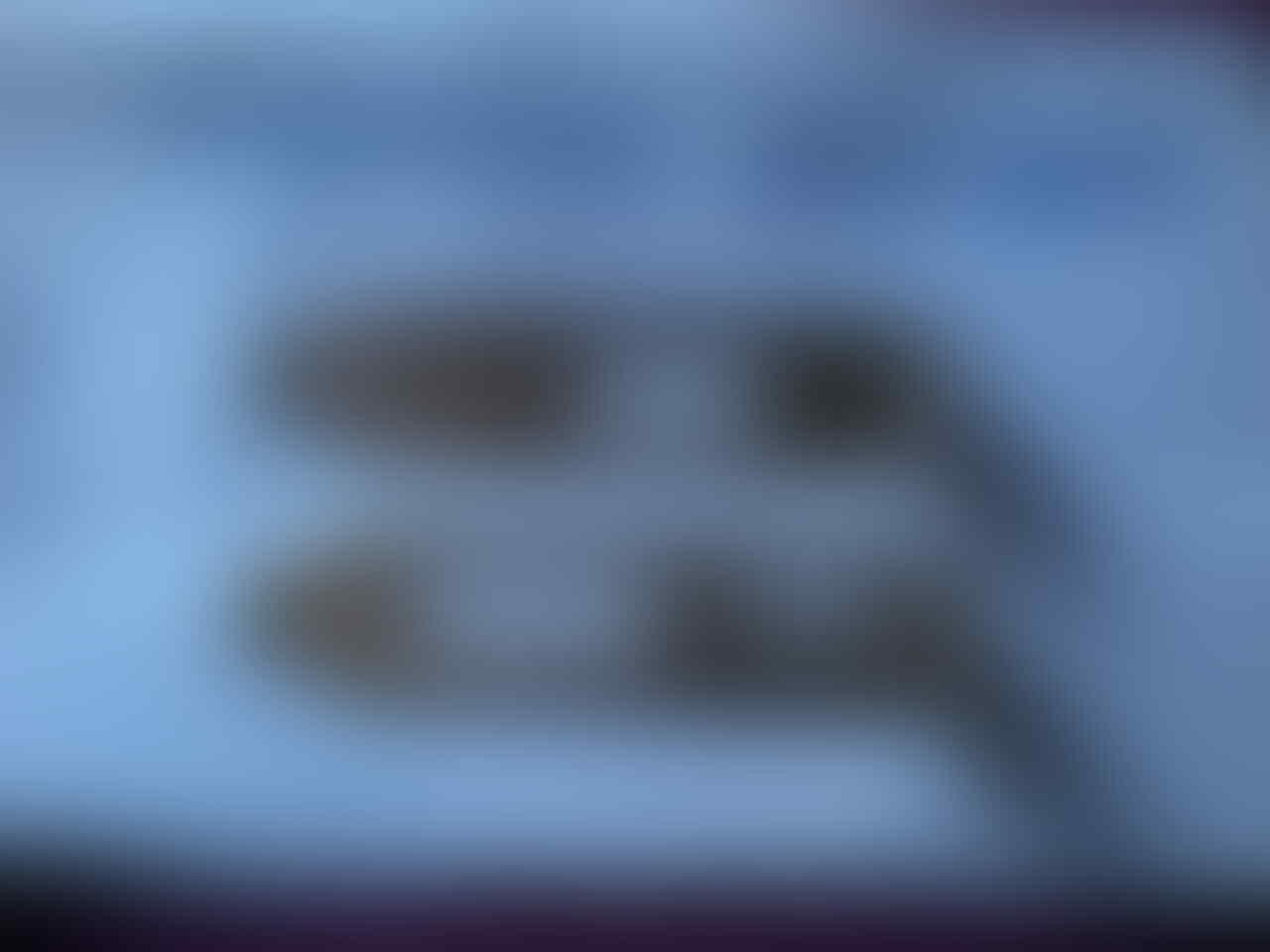 Bracket back plate VGA low profile HDMI DVI dan D-Sub