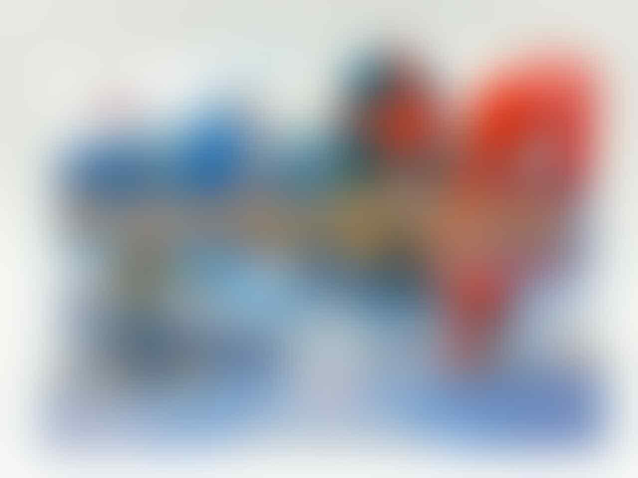 NEW DISNEY INFINITY 2.0 MARVEL SUPER HEROES STARTER PACK BESERTA FIGURE LENGKAP