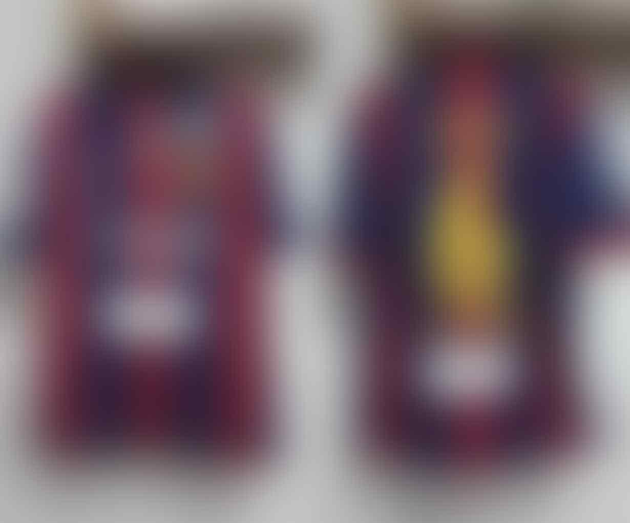 Jersey Paketan Barca Barcelona Home 14/15 dan Final London fullpatch murah banget