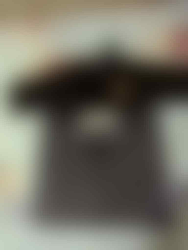 Jersey MU GK hitam 2014-2015 size L