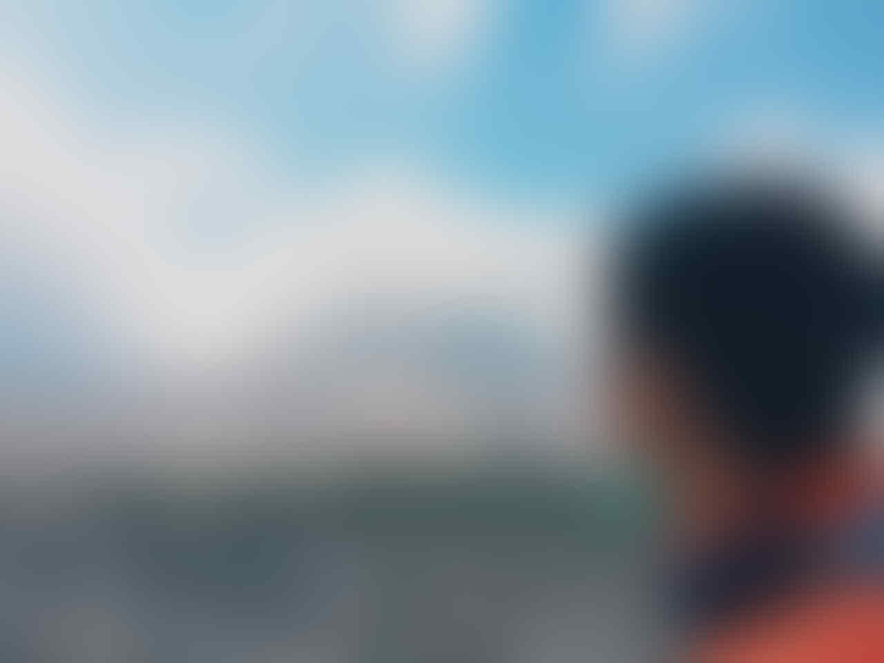 """Desa Hantu"" di kaki Gunung Sinabung"