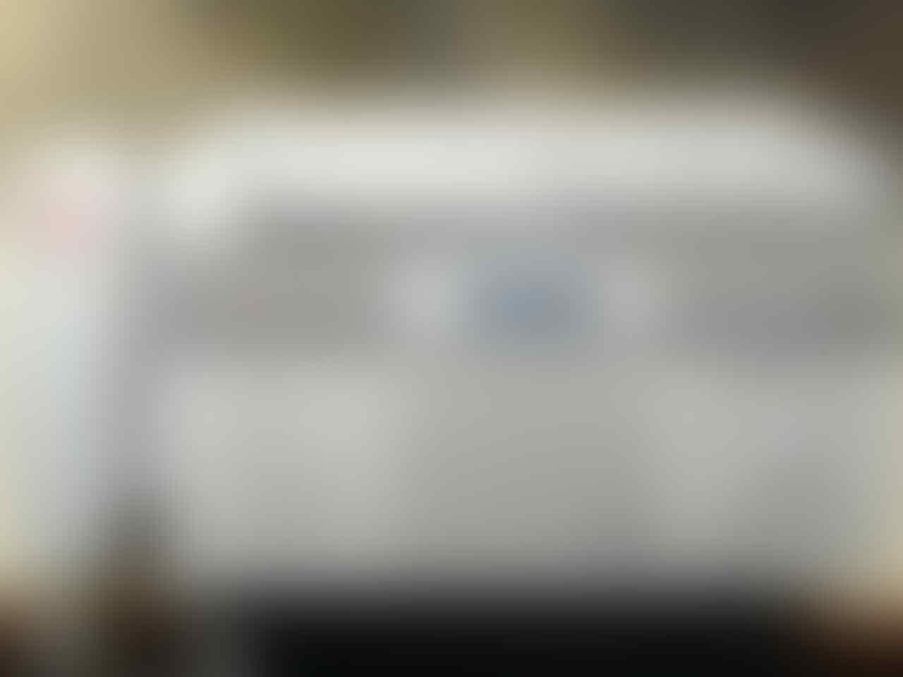 Mesin Fax Second Panasonic KX-FT983CX kondisi mulus -- AUTO CUTTER