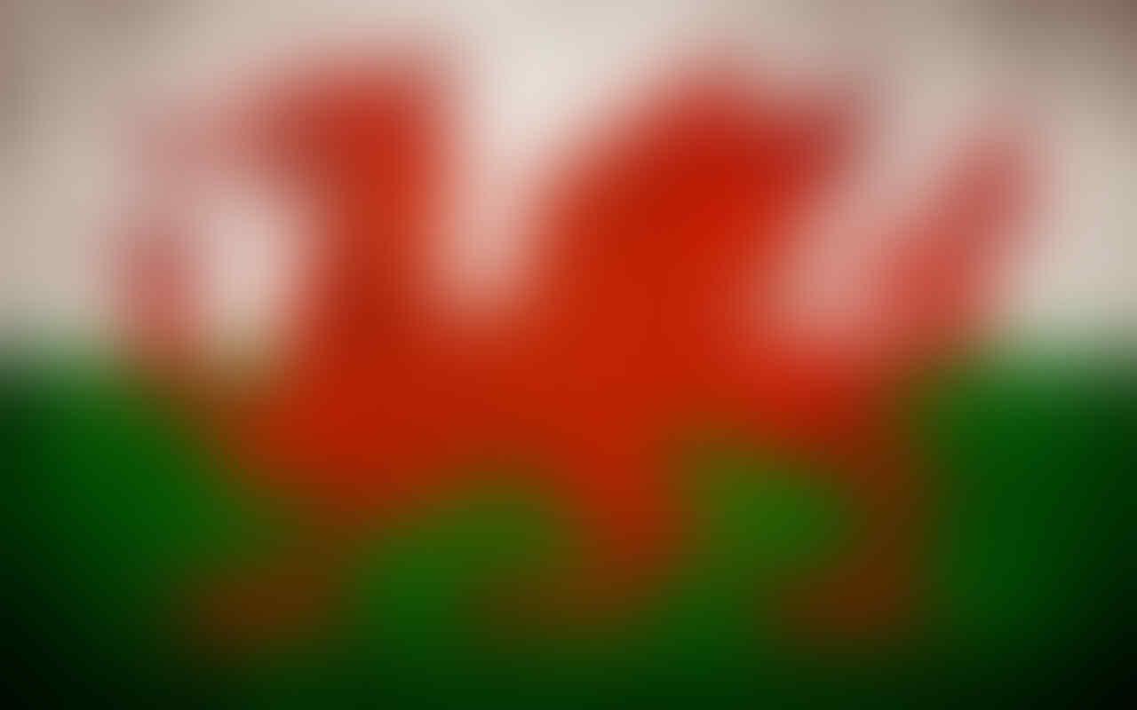Mengenal Bendera Negara Wales Yang Tidak Standart.