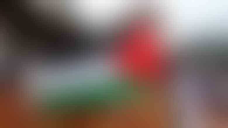 Diprotes Kedubes, Bendera Palestina Berkibar Lagi di Aksi 112