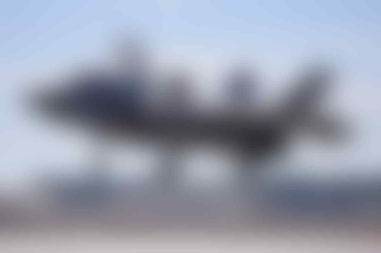 Pesawat Siluman F35 Resmi Dikandangkan Gan