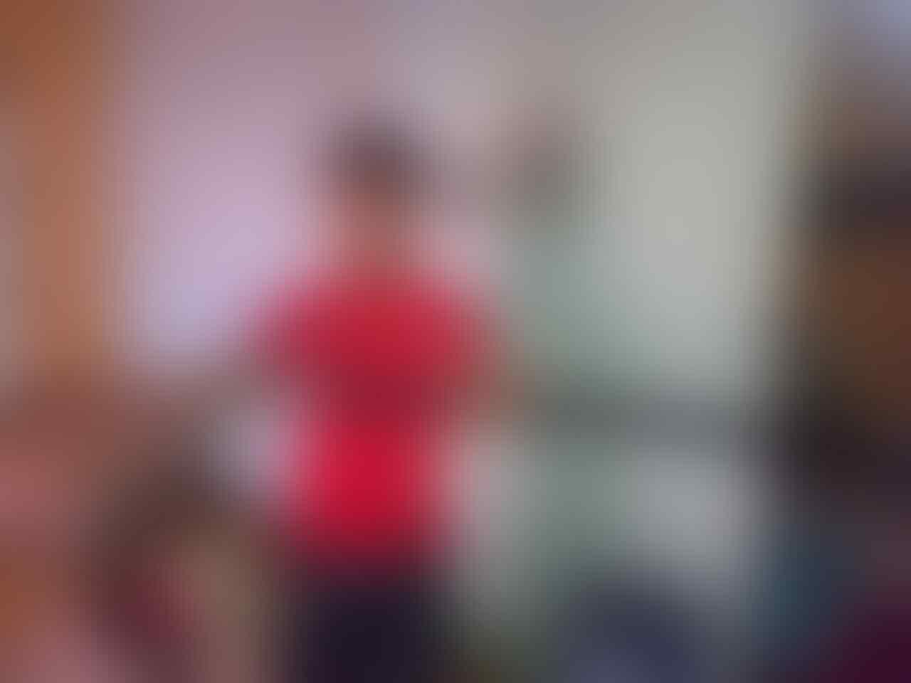 Katana Red Damaskus 1,25cm Tebal 3mm