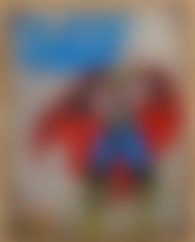 Poster Retro Superhero Marvel