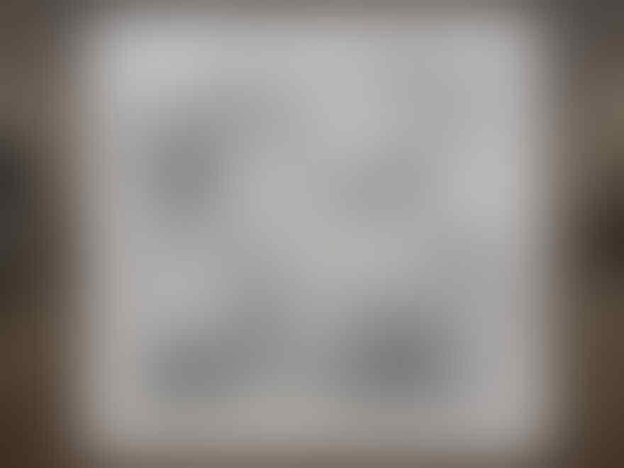 (WOW) Lukisan ini dibuat selama 370 jam dengan 7 juta titik !
