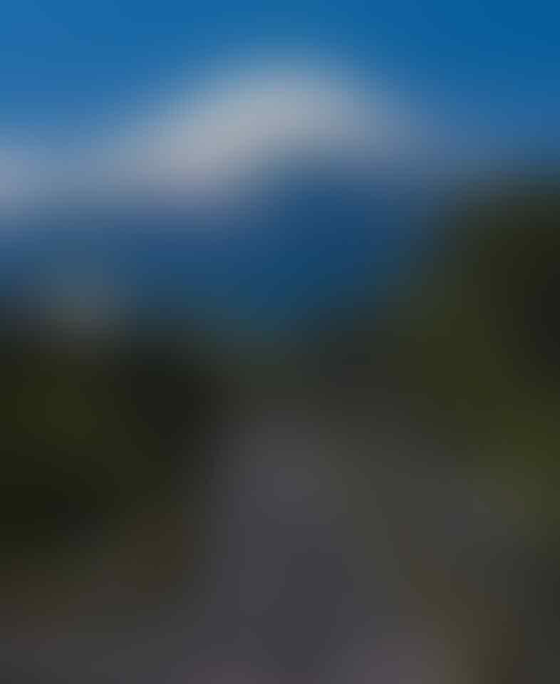 Viral Gunung Gede Terlihat dari Kemayoran