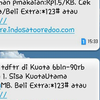 Inject Paket Data Indosat Super Internet 9GB