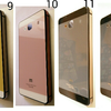 Aluminium Tempered Glass Backcase Backcover Xiaomi Redmi 2 (Iphone Style)