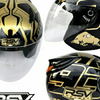 RSV HALF FACE HELMET MARQUEZ TEST GOLD SERIES