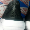 Rare Item Adidas Element Refine Tricot Black/White Size 42 2/3 Original