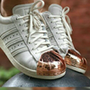 Adidas superstar Pharrell metal toe