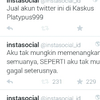 jual akun twitter Real Follower indonesia 180K Follower Salprom