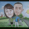 happy birthday lukis foto kirim all indonesia