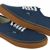 vans authentic gumsole dark denim original