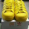 "Adidas ""Pharell"" Superstar Supercolour Yellow/Kuning sz 9.5/43"